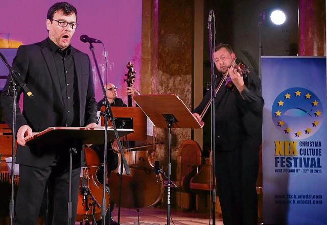Niedzielny koncert Andreasa Scholla i Huberman String Trio