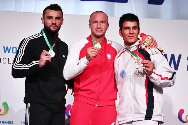 Złoto w kategorii 86 kg zdobył Dawid Kasperski.