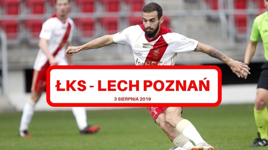 ŁKS - Lech Poznań ONLINE. Transmisja meczu. Wynik ŁKS - Lech...