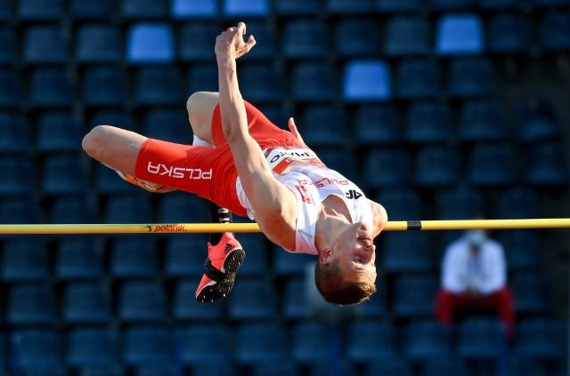 Maciej Lepiato wywalczył złoty medal w skoku wzwyż