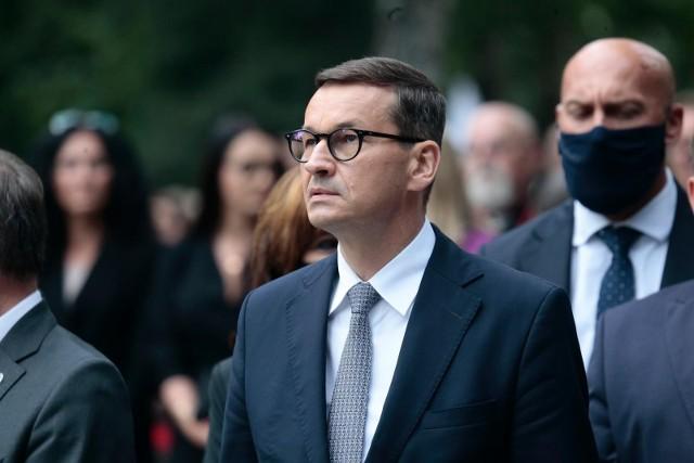 """Premier Mateusz Morawiecki komentuje sprawę Krysciny Cimanouskiej. """"Bandycka próba porwania sportsmenki"""""""