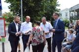 Wybory 2020. Borys Budka w Pruszczu Gdańskim. Przewodniczący Platformy Obywatelskiej spotkał się z mieszkańcami. Zobacz zdjęcia