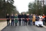 Ważna droga dojazdowa do trasy S7 koło Szydłowca już otwarta. Na uroczystości wielu polityków
