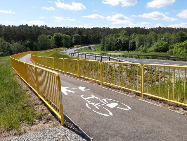 Budowa ścieżki rowerowej z Piastoszyna do Silna zostanie zakończona w wakacje