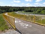 Droga rowerowa z Żalna do Silna w budowie. Inwestorem jest gmina Kęsowo