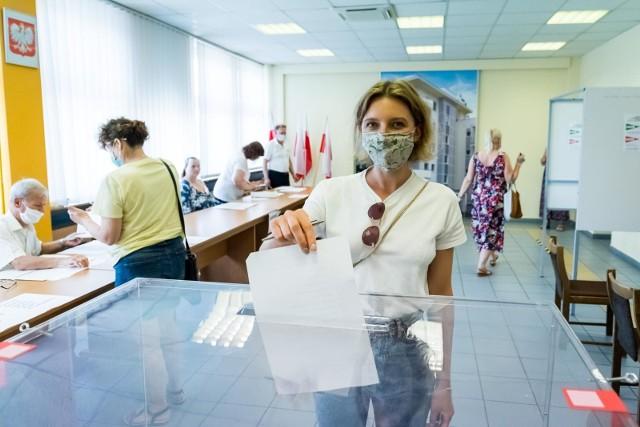 Wybory Prezydenckie 2020 w Bydgoszczy - zdjęcia.
