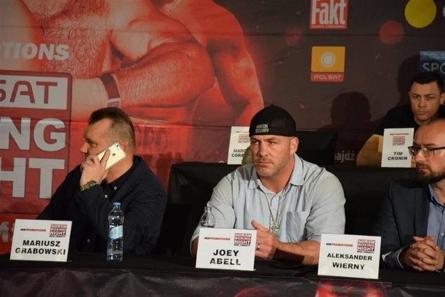 Polsat Boxing Night. Joey Abell