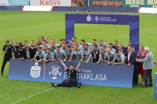 19.07.2020 r. Piast Gliwice zajął 3. miejsce w sezonie 2019/2020   Zobacz kolejne zdjęcia. Przesuwaj zdjęcia w prawo - naciśnij strzałkę lub przycisk NASTĘPNE