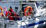 Akcja ratunkowa na Bałtyku. SAR podjął rannego skippera jachtu Konsal 2