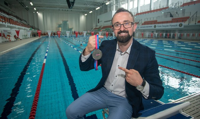 Adam Jerzykowski chce tym razem pobić rekord Guinessa w pływaniu