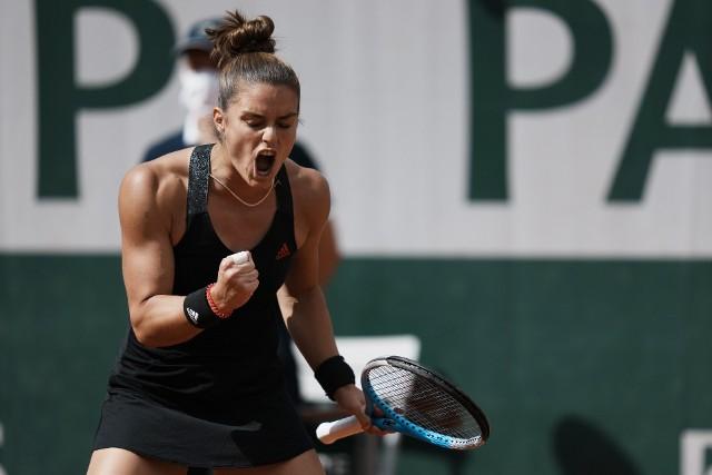 Maria Sakkari sprawczynią kolejnej niespodzianki w tegorocznym French Open