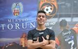 Kolumbijski piłkarz w Toruniu. Daniel Gallego Garcia z kontraktem w FC Reiter