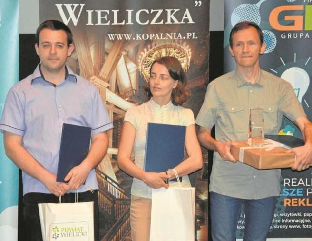 Od lewej: Krzysztof Marszałek, Agnieszka Roszczak, Tomasz Malarz