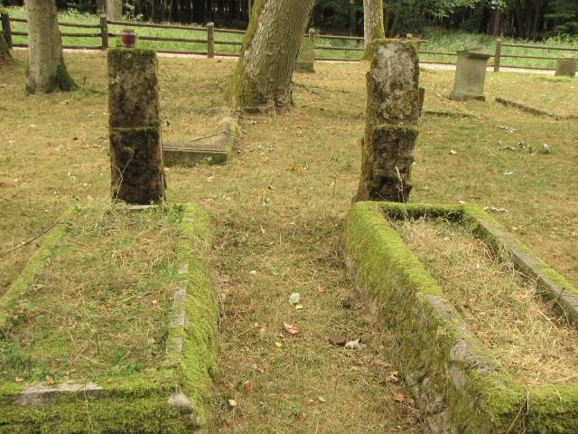 Dawny cmentarz w Ostrowcu w Drawieńskim Parku Narodowym
