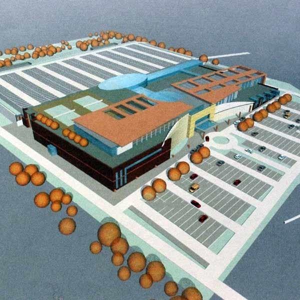 Tak ma wyglądać nowe centrum budowlano-ogrodnicze