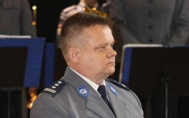 Krzysztof Niziołek jeszcze w policyjnym mundurze