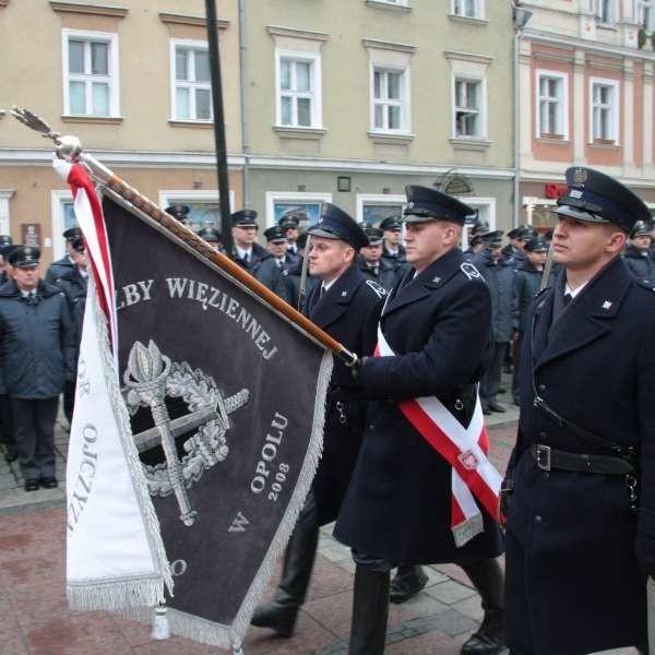 Sztandar ministra otrzymał m.in. Okręgowy Inspektorat Służby Więziennej w Opolu.