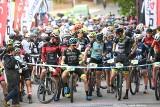 Ponad 300 uczestników na żarskim etapie Grand Prix Kaczmarek Electric MTB. Pojechali w ekstremalnych warunkach po Zielonym Lesie