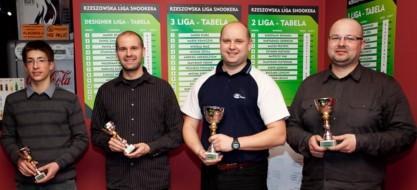 Od lewej: Mikołaj Błaż, Grzegorz Szpecht, Robert Szpecht i Jacek Pańczak. fot. Piotr Kordyś
