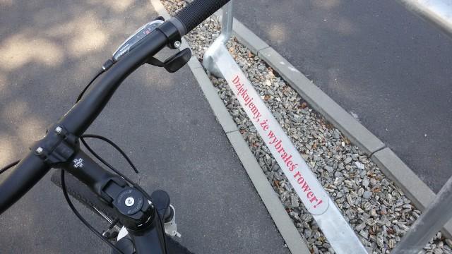 Rybnik: Nowe podpórki dla rowerzystów na skrzyżowaniach
