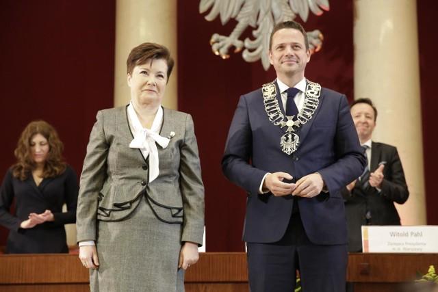 Zaprzysiężenia Rafała Trzaskowskiego na prezydenta Warszawy