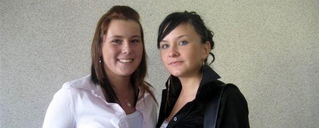 Od lewej: Marlena Ogniewska i Beata Jażdżyk