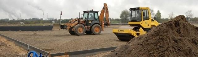 Prace przy budowie boiska trwają