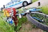 Wypadek na ul. Andersa w Bydgoszczy. Dwoje rowerzystów zostało potrąconych