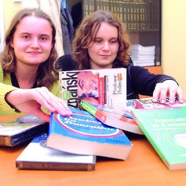 Kasia Rzepa i Magda Bielińska (od lewej) od lat uczą się języków