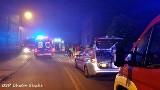 Chełm Śląski: poważny wypadek na ul. Odrodzenia. Cztery osoby ciężko ranne [ZDJĘCIA]
