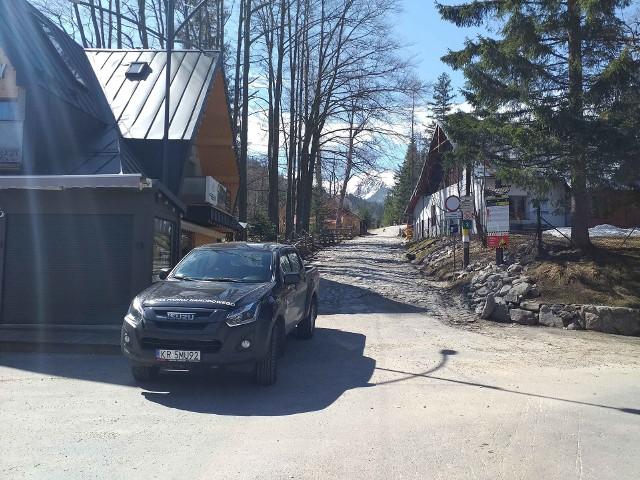Tak wyglądało wejście na szlak na Kalatówki w ostatni weekend