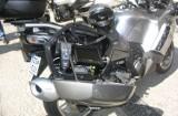 Policyjny motocykl kawasaki w akcji. Kierowcy są karani ogromnymi mandatami