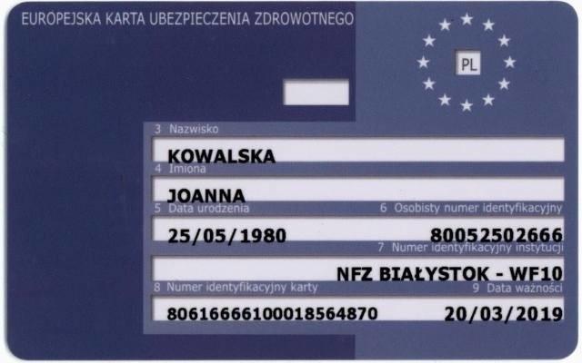Białystok. Biuro paszportowe. Kartę EKUZ można wyrobić w sobotę w mobilnym stanowisku w Biurze Paszportowym