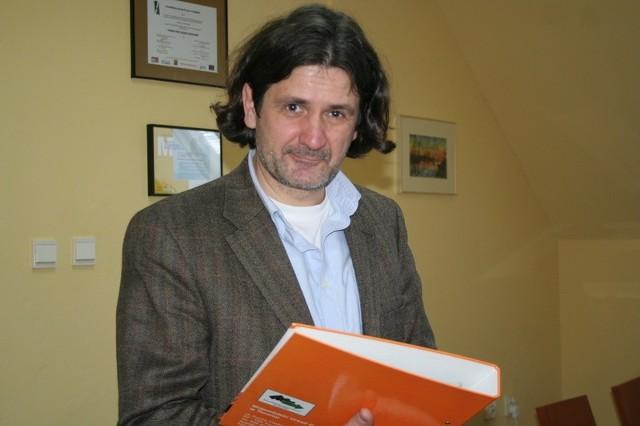 Krzysztof Derbiszewski zachęca do udziału w zajęciach pracowników małych i średnich firm oraz urzędów