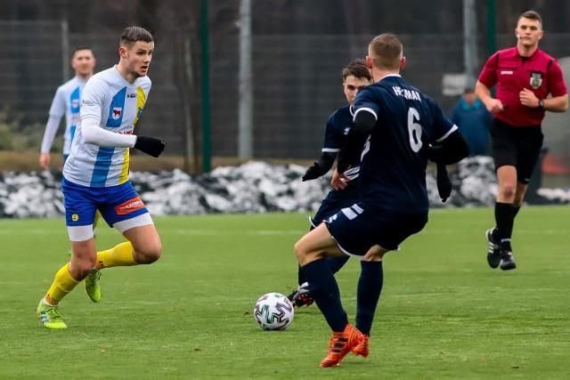 Piłkarze Tura Bielsk Podlaski zremisowali w zaległym spotkaniu z Warmią Grajewo 1:1