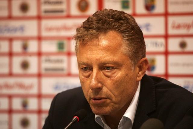 Ryszard Tarasiewicz był też trenerem w ŁKS w latach 2011-2012