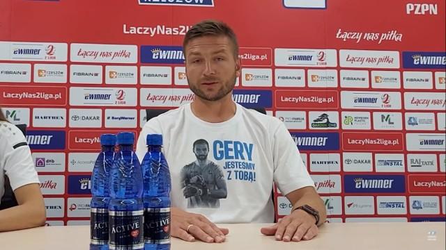 - Ta wygrana to już historia - powiedział Daniel Myśliwiec, trener Stali Rzeszów