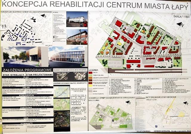 Studenci architektury zaprojektowali centrum Łap