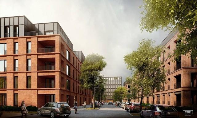 Projekt zlecony przez MTP zakłada powstanie osiedla mieszkaniowego i biurowców w rejonie ulic Ułańskiej, Grunwaldzkiej i Matejki, a na tyłach dawnego kina Olimpia mógłby powstać hotel.
