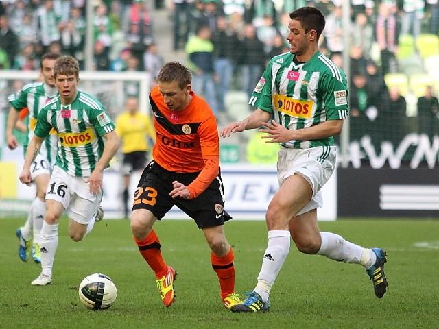 W pierwszym sobotnim meczu Ekstraklasy, Lechia zagra z Zagłębiem