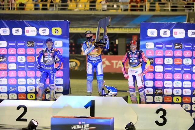 W edycji 2020 Speedway Euro Championship brylowali Leon Madsen, Robert Lambert i Grigorij Łaguta