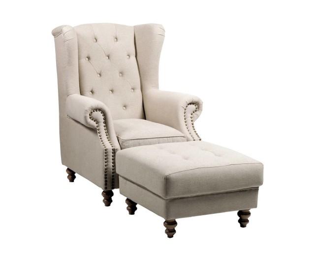 Fotel z podnóżkiemOto wersja dla bardziej wygodnych.
