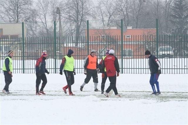 Dotychczas piłkarze Włocłavii Oltech trenowali na sztucznej nawierzchni OSiR