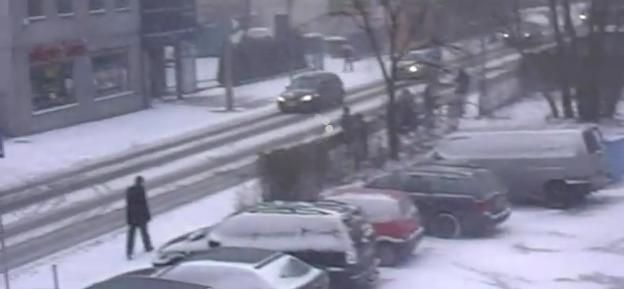 Na drogach w okolicach Włocławka panują trudne warunki pogodowe