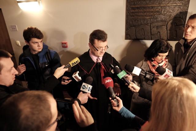 Proces Gawronika nie ruszył, bo zrezygnowali jego obrońcy