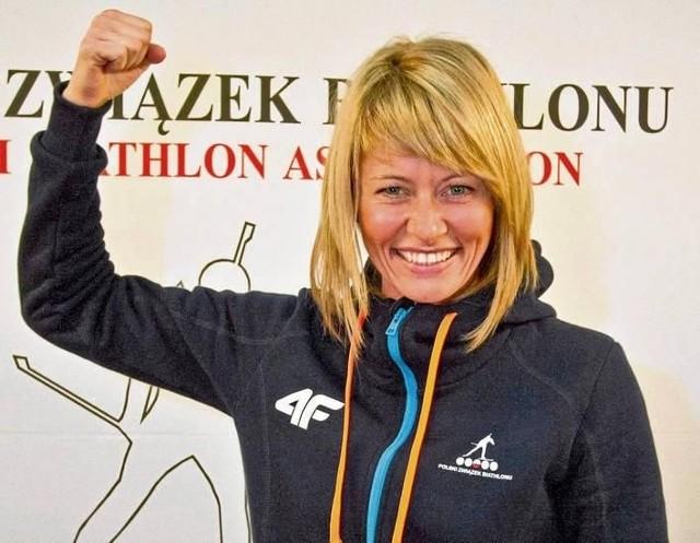 Nasza najlepsza na igrzyskach w Soczi biathlonistka Weronika Nowakowska-Weronika Nowakowska-Ziemniak lubi bieg ze startu wspólnego, więc może...