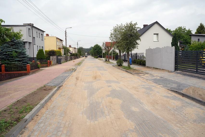 Wyremontowana ulica Pokrzywnickiego w Sępólnie