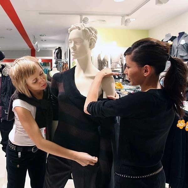 Wymarzonym miejscem pracy może być firma zajmujaca się modą.