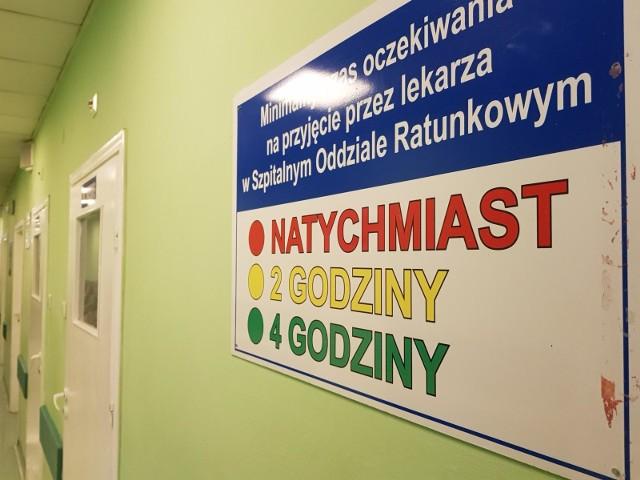 W szpitalu na Bielanach obowiązuje tzw. triaż