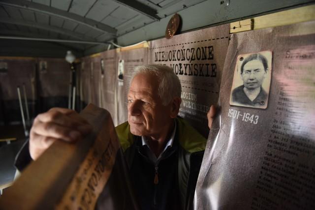 Czesław Laska, inicjator powstania Golgoty Kresów, mówi, że pamięć o kresowych tragediach ma w genach